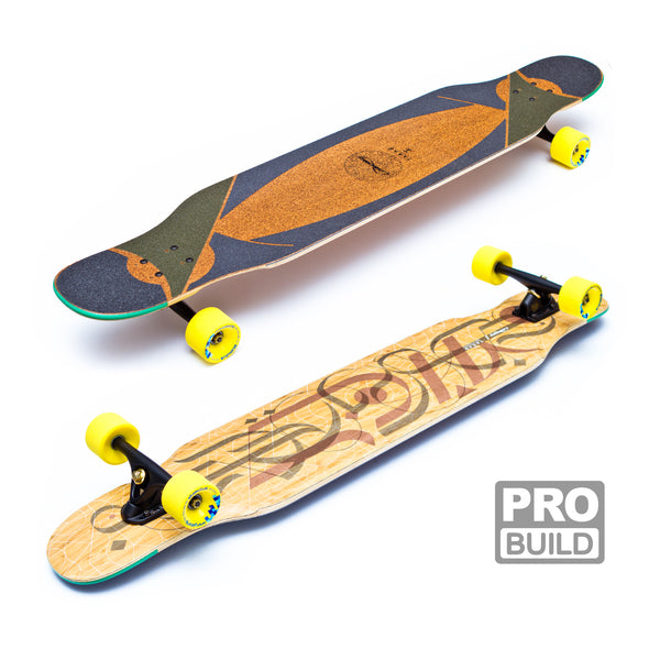 Loaded Tarab Longboard Black Paris Yellow Stimulus