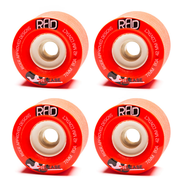RAD 72mm Release Red 82a