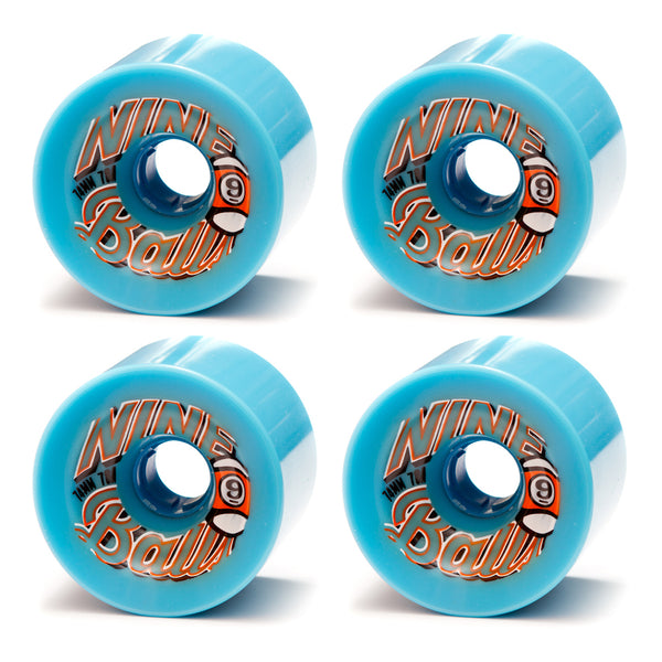 Sector 9 Nine Ball Wheels 74mm Blue