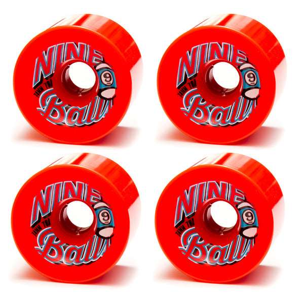 Sector 9 Nine Ball Wheels 74mm Red