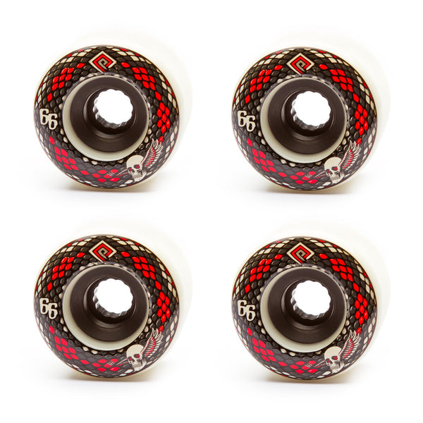 Powell 66mm Snakes 75a White