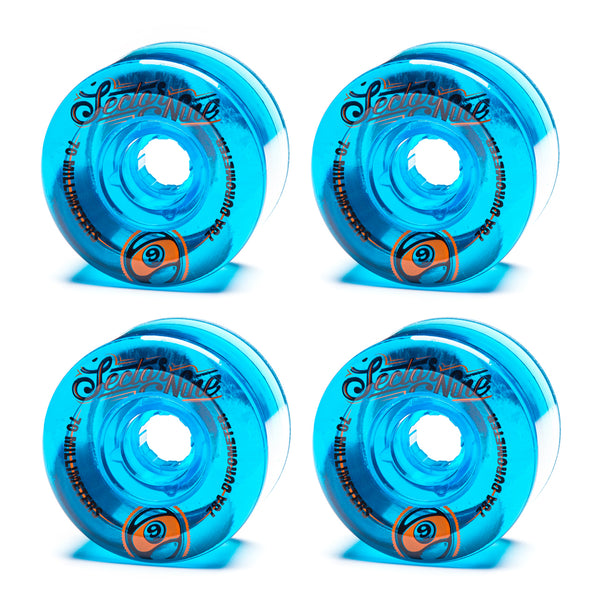 Sector 9 70mm Top Shelf Blue - Performance Longboarding - FREE SHIPPING!