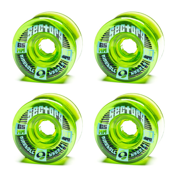 Sector 9 65mm Top Shelf Green - Performance Longboarding - FREE SHIPPING!