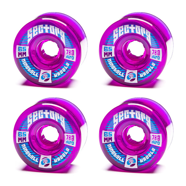 Sector 9 65mm Top Shelf Purple - Performance Longboarding - FREE SHIPPING!