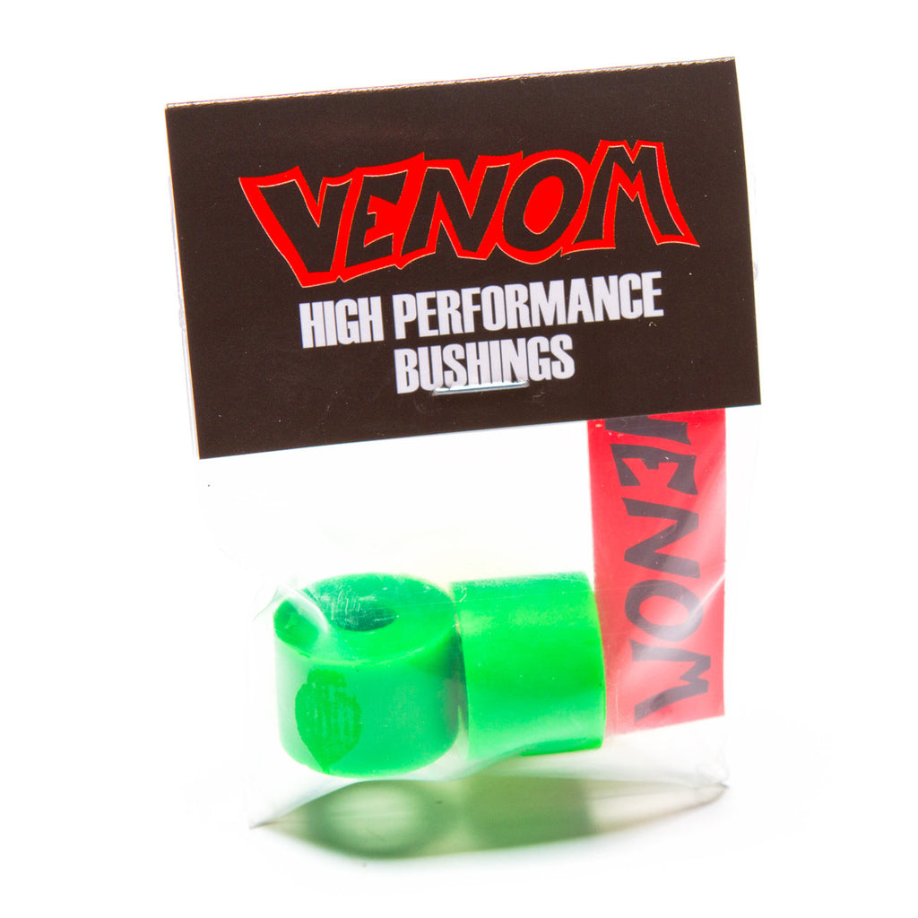 Venom Tall Barrel Bushings 93a Green - Performance Longboarding - FREE SHIPPING!