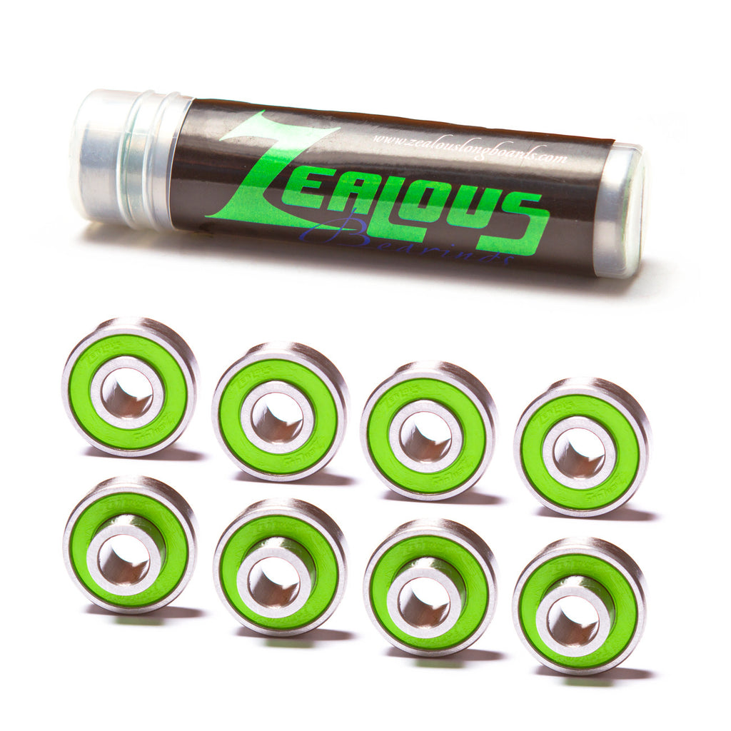 Zealous Bearings - Performance Longboarding - FREE SHIPPING!