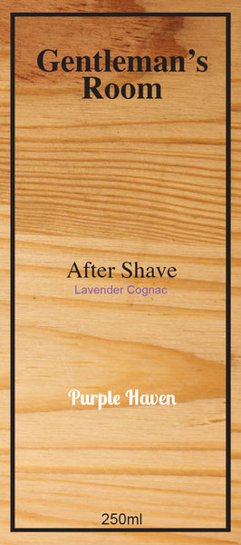 After Shave  Lavender Cognac
