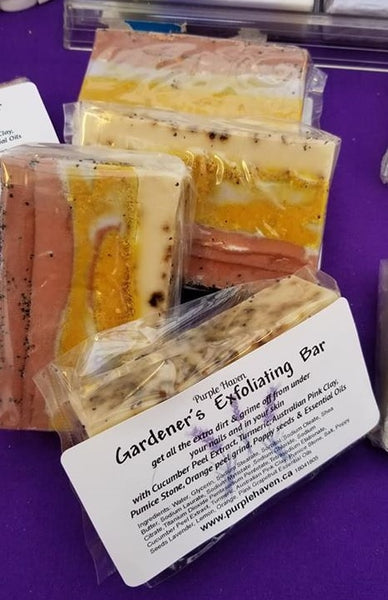 Gardener's Exfoliating  Bar  Soap