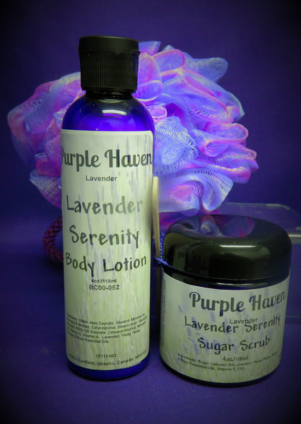 Lavender Serenity  Shower Gift Set