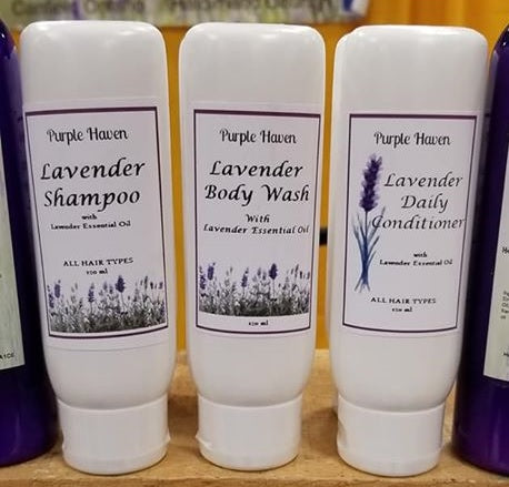 Lavender Body & Hair Gift Set