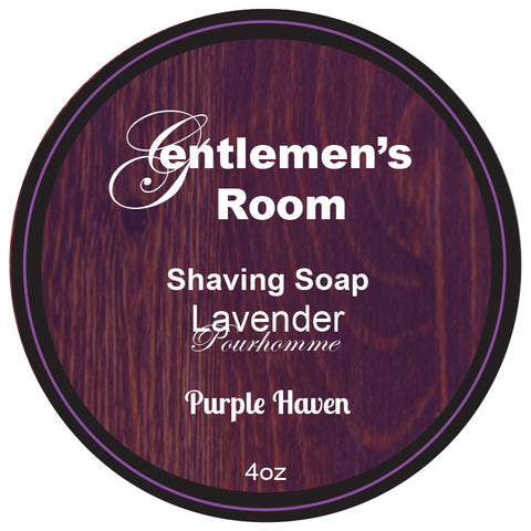 Shaving  Cream Soap   Lavender Pourhomme