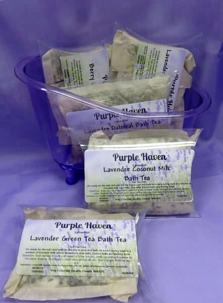 Bath Tea Lavender Oatmeal