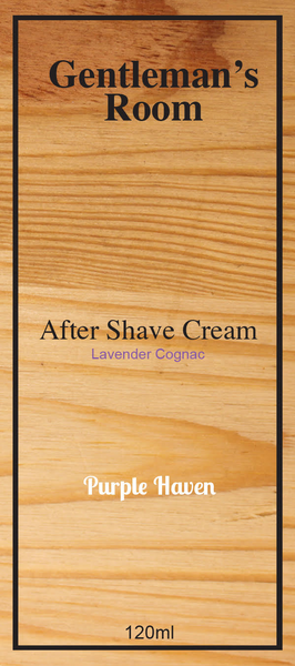After Shave Cream  Lavender Cognac