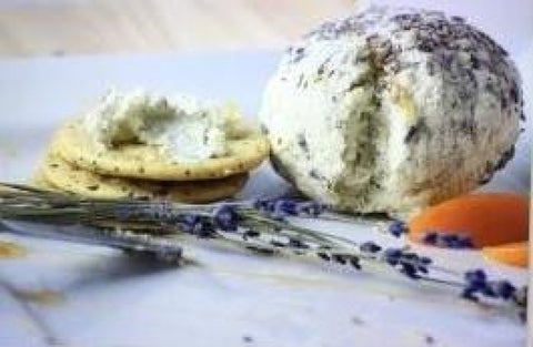 Savory Lavender Cheese Ball