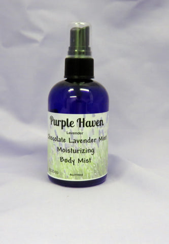 Chocolate Lavender Mint Body Mist
