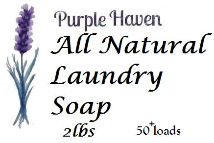 Natural Lavender Laundry Soap