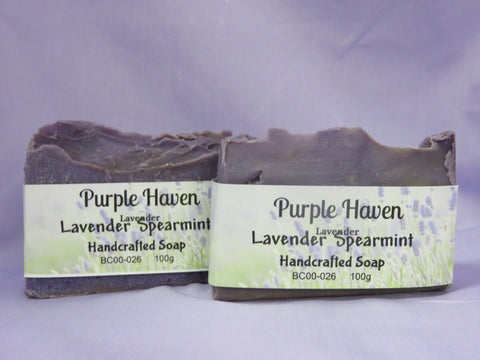 Lavender Spearmint Soap