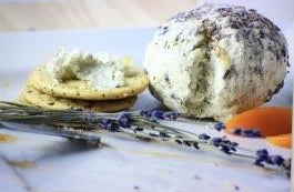 Prepared Savory Lavender Cheese Ball  Set 2