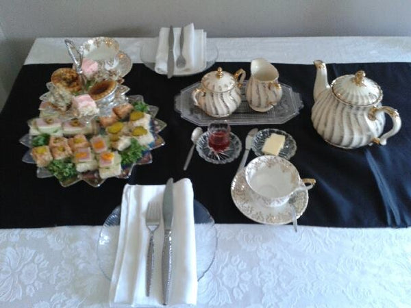 Purple Haven Afternoon Tea at Towne Cafe   Reeve B&B special rate