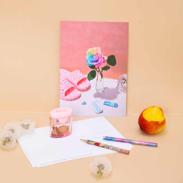 Tabea Mathern - Postkartenset Hi from Home