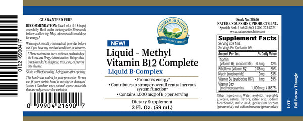 Liquid Methyl B12