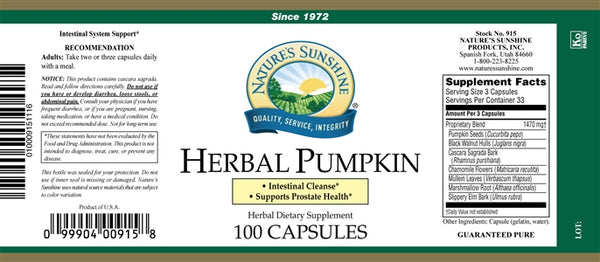 Herbal Pumpkin