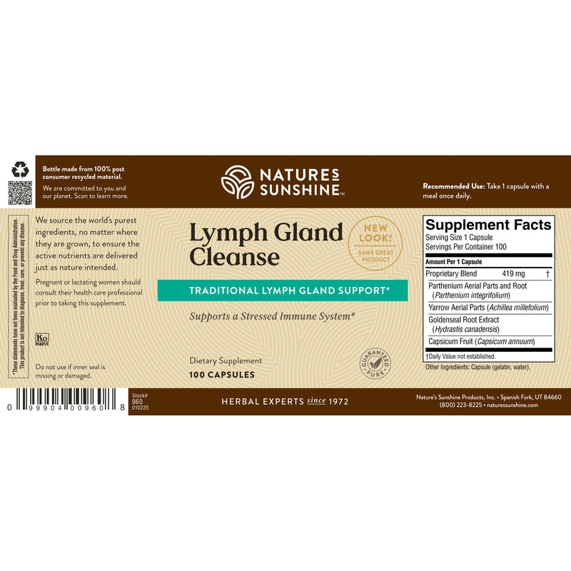 Lymph Gland Cleanse