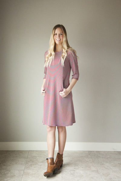 C'est La Vie Dress – 3Q Sleeves