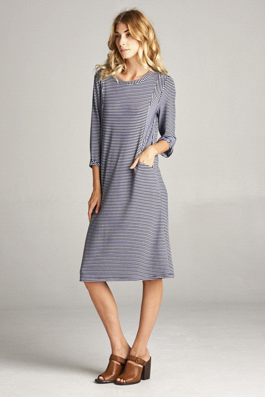 C'est La Vie Dress – 3Q Sleeves - DIVI