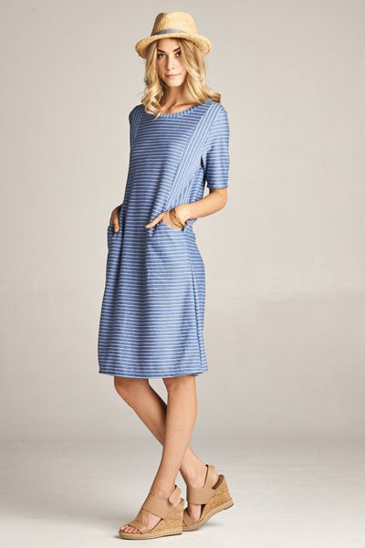 C'est La Vie Dress – Midi Sleeves
