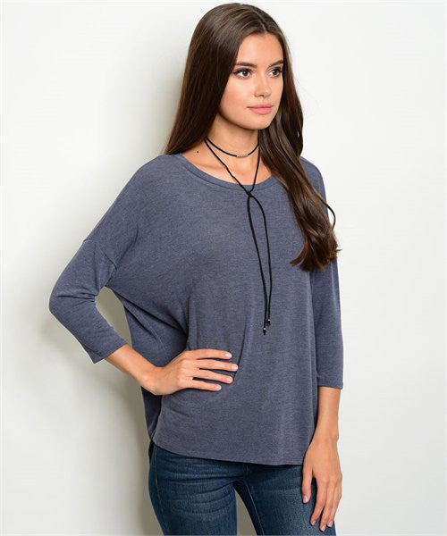 Double Date Knit Top - DIVI