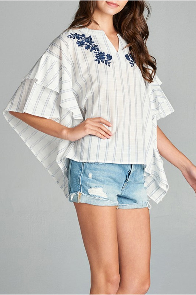 Flared Kaftan Top - DIVI