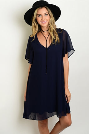 Wavy Waterfront Dress - DIVI