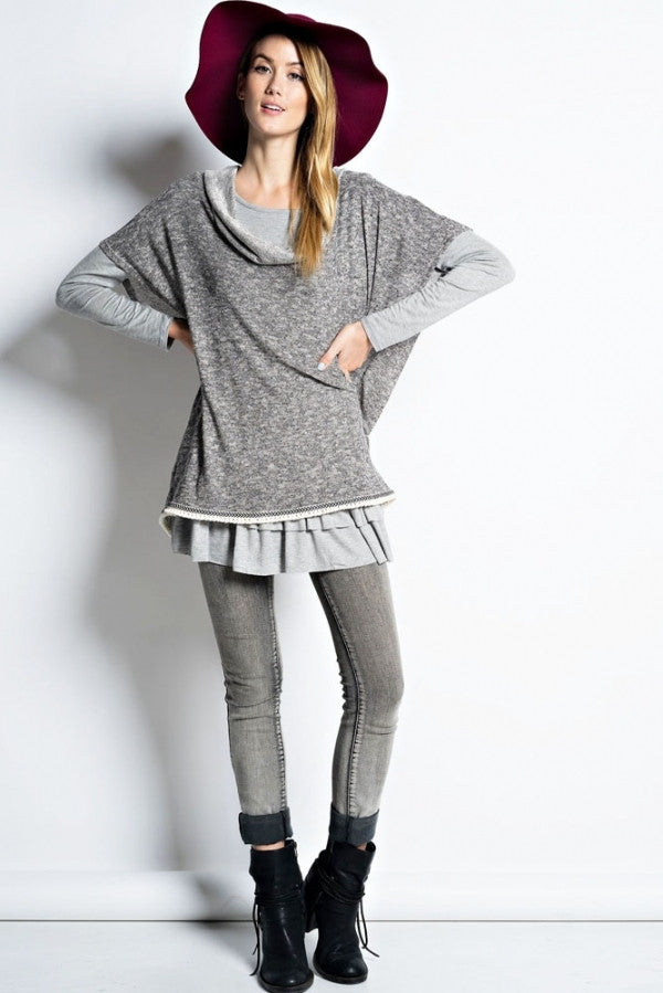Sweater Knit Fullover - DIVI