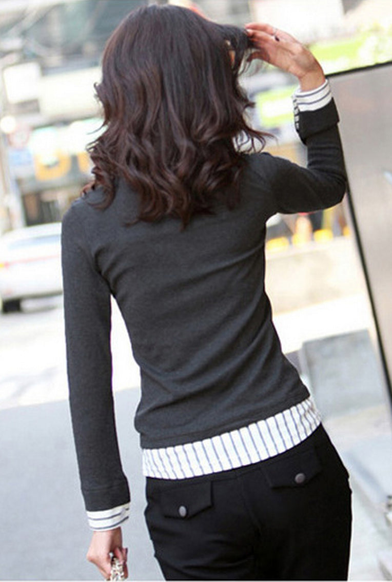 All-in-One | V Neck Sweater - DIVI  (2)
