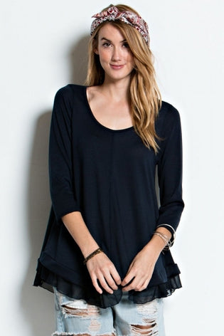 Tiny Ruffle Top - DIVI