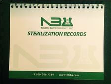 Sterilization Record Keeping Wire-Bound Booklet