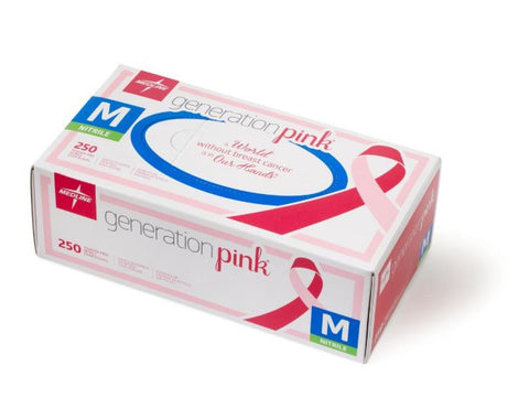 Generation Pink® Powder-Free Nitrile Gloves