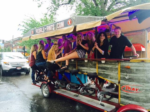 Boise pub crawl on wheels - brewery tour with Pedals & Pints
