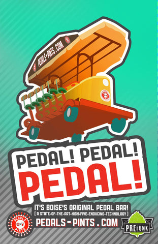 Pedals & Pints - the original Bike Bar for tours of Boise pubs