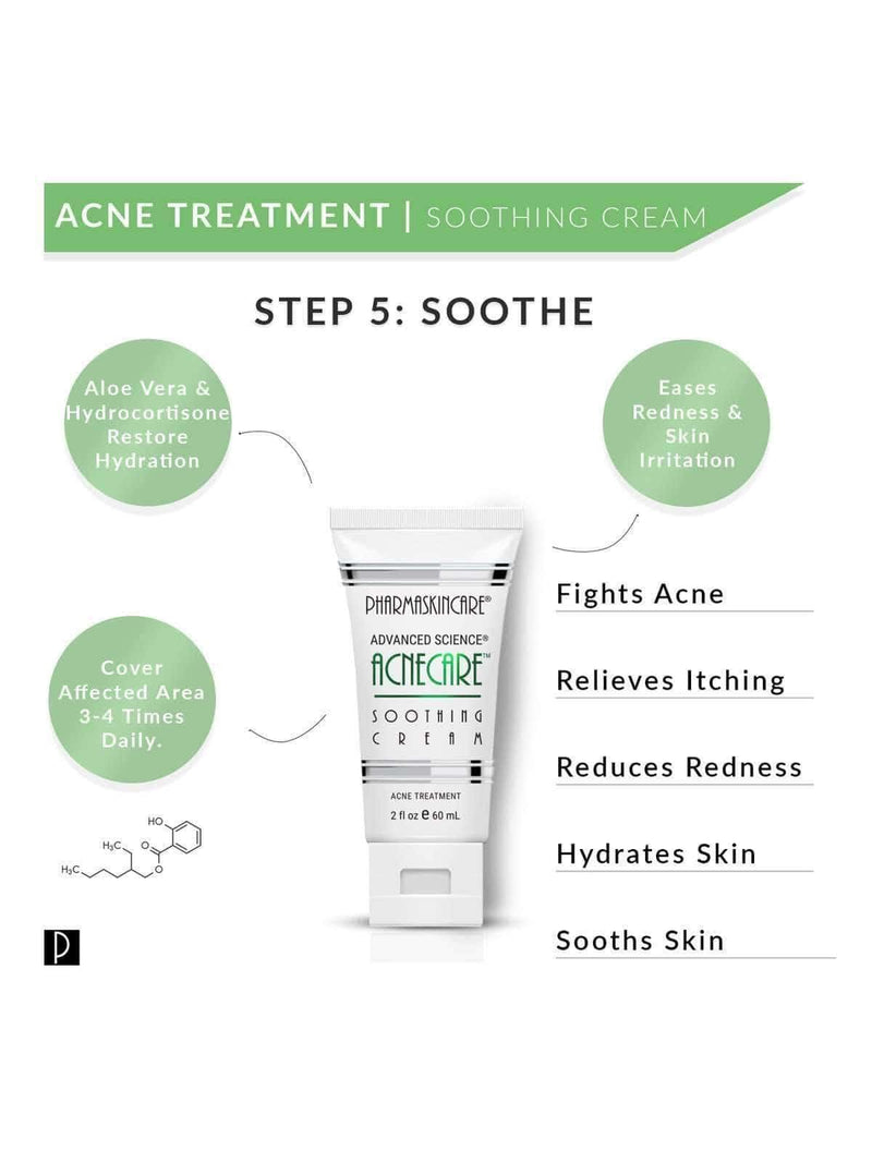 Acnecare Soothing Cream - Pharmaskincare