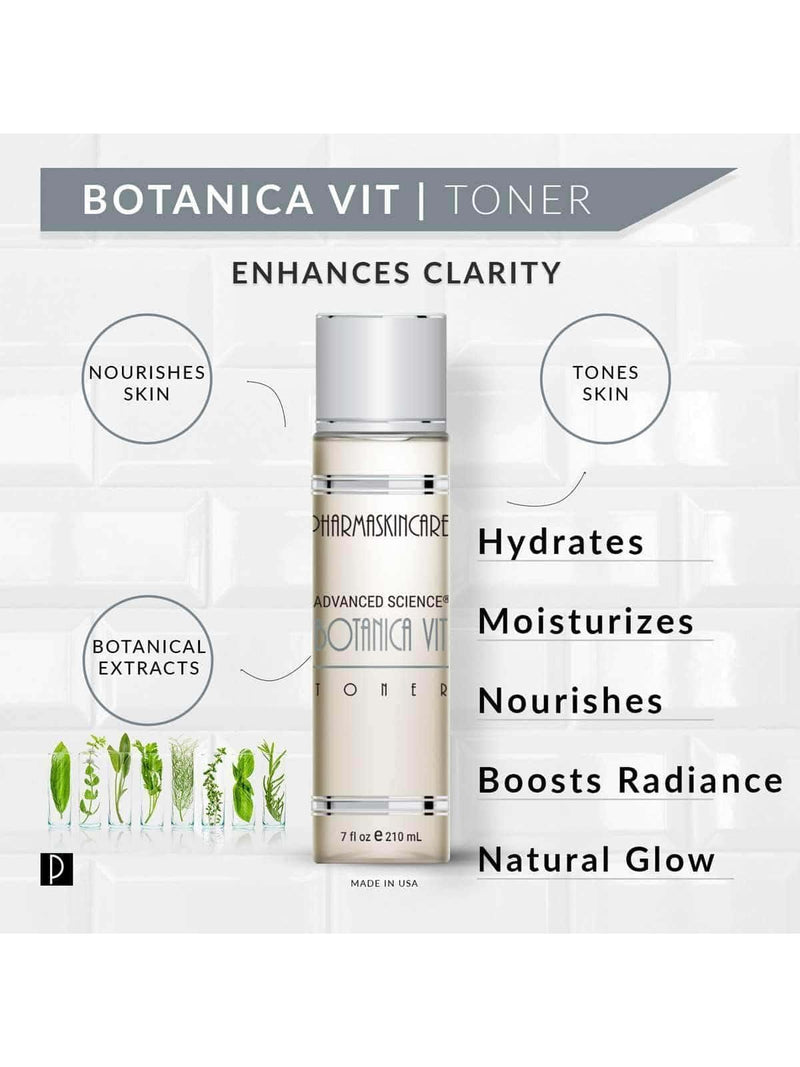 Botanica Vit Toner with Witch Hazel - Pharmaskincare