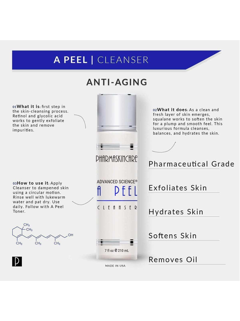 A Peel Cleanser - Pharmaskincare