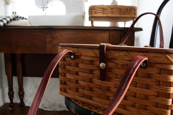 A Machine, An Amish Basket And Your First Pillowcase Project
