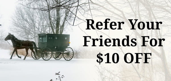 Refer A Friend For $10 Off