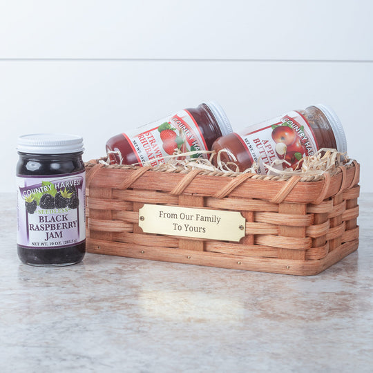 Amish Jam Gift Basket
