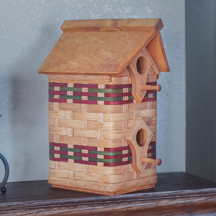 Rustic Two Story Birdhouse