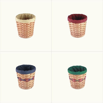 Amish Handmade Basket Liner for Deep Collection Basket (8