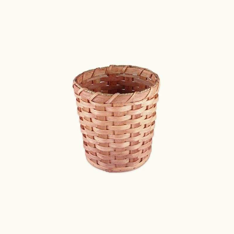 "Gingerich Family Small Wicker Collection or Waste Basket (8"" Tall)"