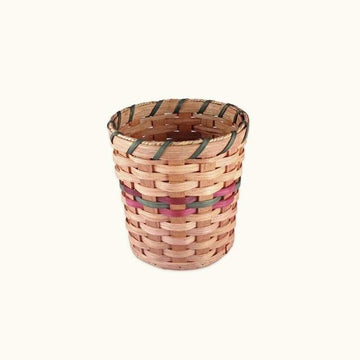Small Wicker Collection or Waste Basket (8